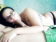 Sexe oral avec une femme latina sexy